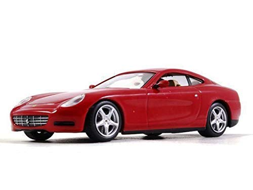 Ferrari 612 Scaglietti 1:43 Scale Red Color Diecast Model Sports Car 2004 Year