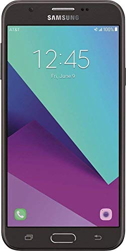 Samsung Galaxy J7 J727A 16GB AT&T Branded GSM Unlocked (Black) (Renewed)