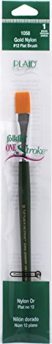 Donna Dewberry One-Stroke Brush - #12 Flat