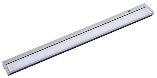 MÜLLER-LICHT LED Unterbauleuchte Limon Sensor 60 cm, Aluminium, 10 W, Titan, 55.9 x 6.1 x 3 cm