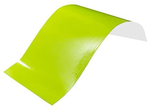 3,6€/m² Plotterfolie Neon - NEON GELB - 30 x 106 cm Klebefolie Möbel-Deko-Folie selbstklebend