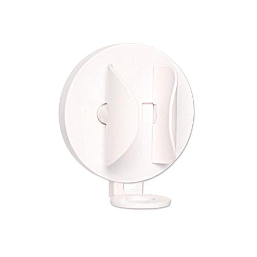Organizer da bagno porta spazzolino da parete adesivo da 2 pezzi, si adatta automaticamente al corpo dello spazzolino da denti per gravità (1)