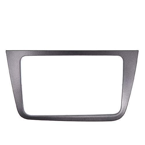 KAOLALI - Mascherina per autoradio a doppio DIN 2 DIN compatibile con Seat Altea 2004+LHD con guida a sinistra stereo pannello piastra cruscotto installazione