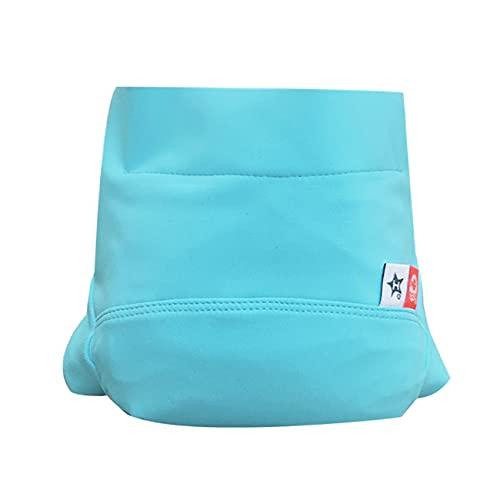 Couche piscine anti-fuite et anti-UV Hamac lavable - réutilisable - Coloris : Bleu Poséidon - Taille : 12 mois (6-12 kg)