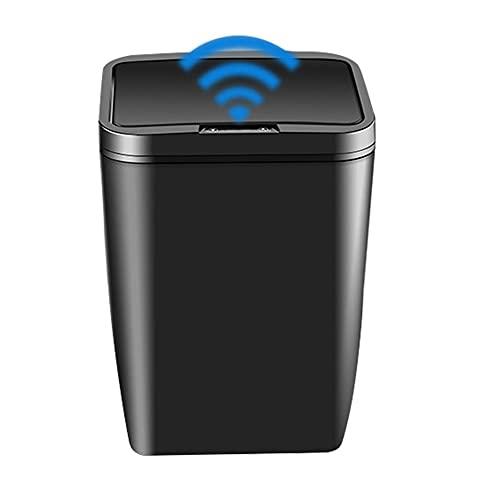 BINGHC Portarifiuti, 12L Cestino Intelligente Cestino Automatico Smart Sensor DUSTBIN TRAFICI di RIFIUTI ELETTRICI BABIGGIAMENTO BACCHETTO Cucina BAGNA del Bagno del Bagno Nessuna Batteria