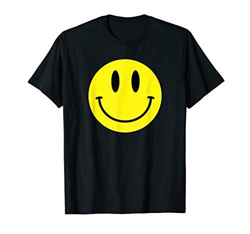 Classic Smile T Shirt Retro 80s Acid House Emoticon T-Shirt