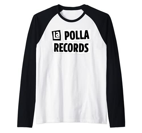La_Polla_Records Band Rock España Camiseta Manga Raglan