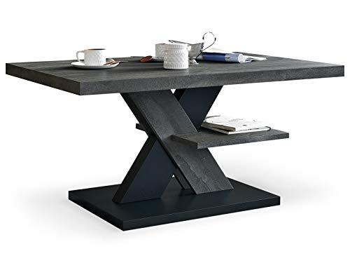 Tavolino da Salotto Arredamento moderno colore in acciaio e...