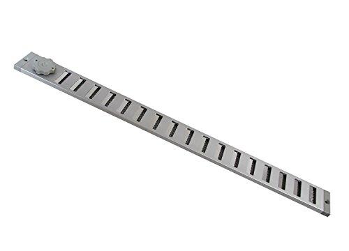 Lüftungsgitter LG 5004 SAA Schiebegitter Alu 500 x 40 mm Abluftgitter