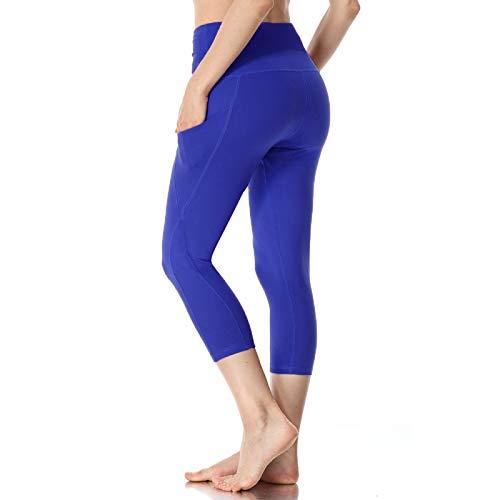 NIGHTMARE Leggings Deportivos para Mujer, Mallas Deportivas de Cintura Alta para Correr, Pantalones de Yoga recortados y Ajustados, de Gimnasio con Estiramiento eléctrico, Control de Barriga XXL