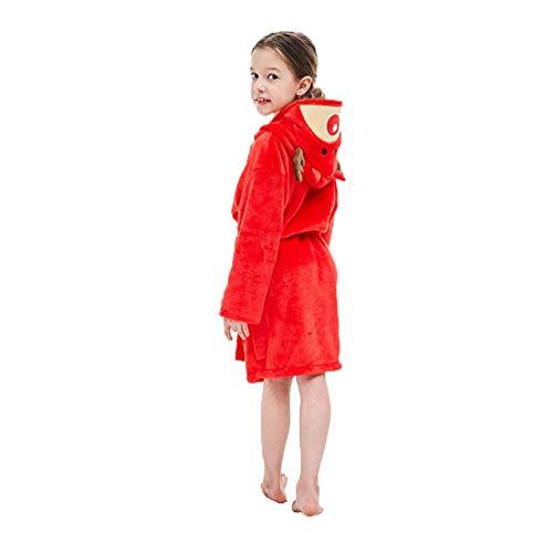 YUYAXPB kinderbadhanddoeken met capuchon, leuke herten badjas flanel, baby zwemmen strand poncho handdoeken voor meisjes en jongens, 0-8 jaar oud