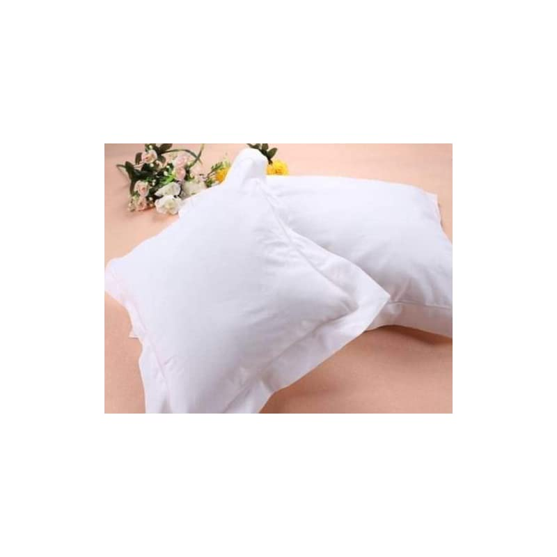 crib bedding and baby bedding travel pillow sham 12x16 500 tc egyptian cotton set of 2 toddler pillow sham solid white 100% egyptian cotton (toddler pillowsham 12x16 + 2, white solid)