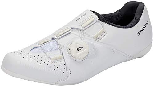 SHIMANO SH-RC3 - Scarpe da ciclismo, taglia EU 45 2021, colore: Bianco