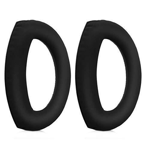 kwmobile Almohadillas compatibles con Sennheiser HD700-2X Almohadilla de Repuesto para Cascos y Auriculares en Cuero sintético