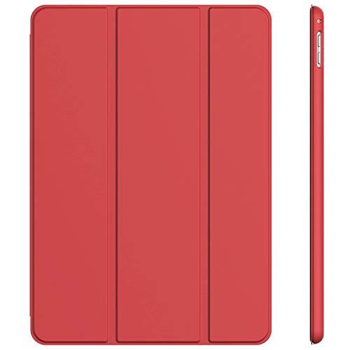 JETech Hülle Kompatibel iPad Pro 9,7, Schutzhülle mit Ständer Funktion und Auto Schlaf/Wachen, Rot