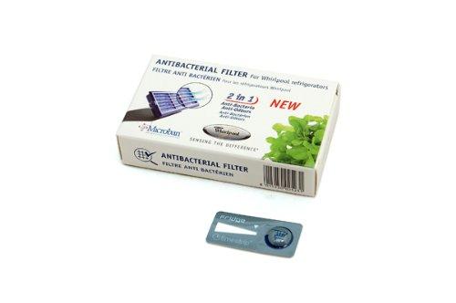 Whirlpool | Microban ANT001, ANT-001, ANTF-MIC, 481248048172 | Antibacteriële filter voor koelkast | Luchtzuivering