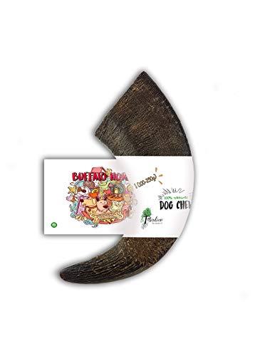 Bio Mordiscos Hundespielzeug kauspielzeug aus Büffelhorn für Hunde - 100% natürlich (S 100-250 g)