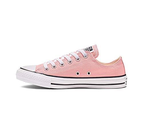 Converse Zapatillas Chuck Taylor All Star de color de temporada para mujer, rosa (Rosa (Coastal Pink)), 35 EU