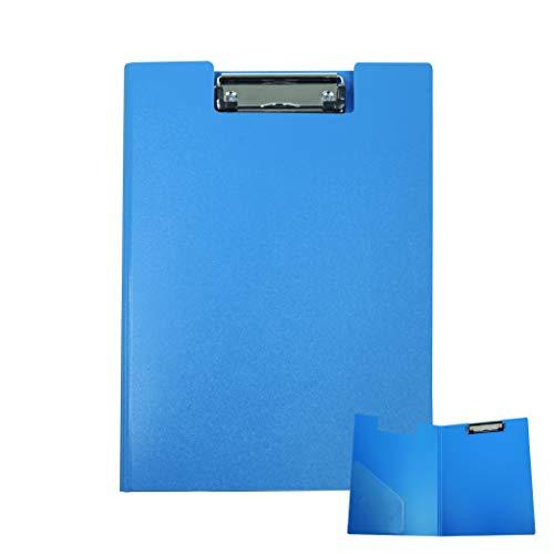 Portablocco Pvc con Copertina A4 Blu