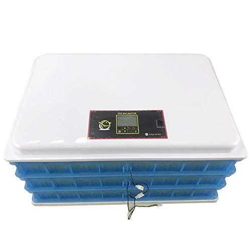 BONAE Incubatrice per Uova, incubatrice Industriale a 360 Uova Uovo Automatico Che Gira a Basso Rumore Controllo Intelligente della Temperatura Adatto a Varie Uova di Uccelli (360 Uova)