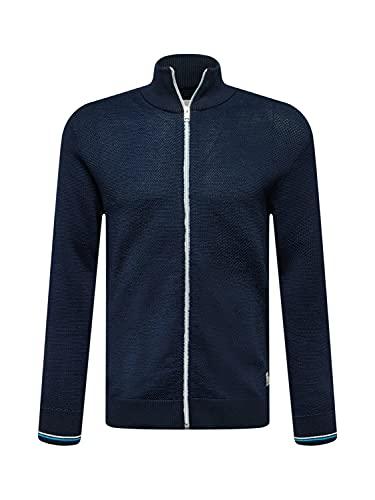 JACK & JONES JCOALLEN Knit Cardigan Maglione, Blazer Blu Marine, M Uomo