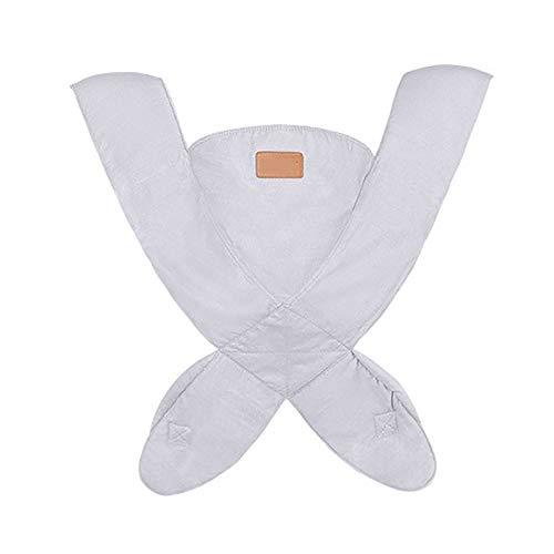 G&F Mochilas Portabebé Ergonómico Portadores De Espalda con Posiciones Delanteras Y Traseras por Bebés A Niños Pequeños hasta 44 Libras (Color : Gray)