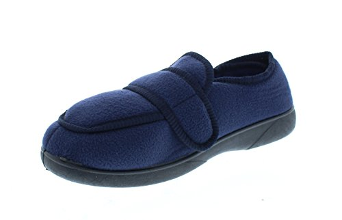 Gold Toe Jude Mens House Shoes Diabetes,Men's Orthopedic Arthritis Edema Slipper,Eldery Houseshoes,Diabetic Footwear