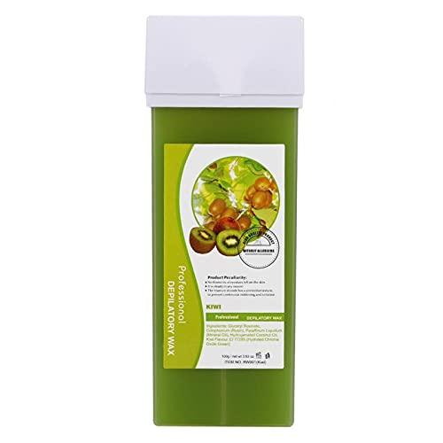 Cera depilatoria, Crema de cera depilatoria Ingrediente de trementina natural 12 sabores para todas las pieles(Kiwi, Santa Claus)