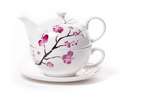 Shamila Tea for One Set 'Cherry Blossom'