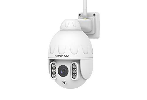 Foscam SD2 Cámara de Seguridad IP Exterior Blanco 1920 x 1080 Pixeles Zoom x4- Cámara de vigilancia (Cámara de Seguridad IP, Exterior, Blanco, Pared, 2 MP)