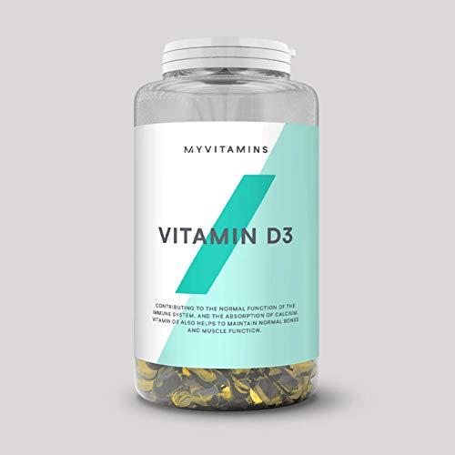 MyProtein Vitamin D3 Kapseln 180 Softgel Kapseln