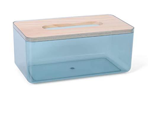 rickie_cao Pumpbox Caja de Almacenamiento de servilletas de Papel de Seda para Restaurante para el hogar 1 Uds Caja de pañuelos Creativa Minimalista nórdica Sala de Estar del hogar