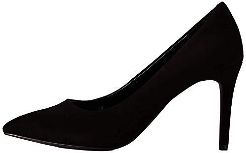 find. Wide Fit Point Court Shoe Scarpe col Tacco Punta Chiusa, Nero Black), 41 EU