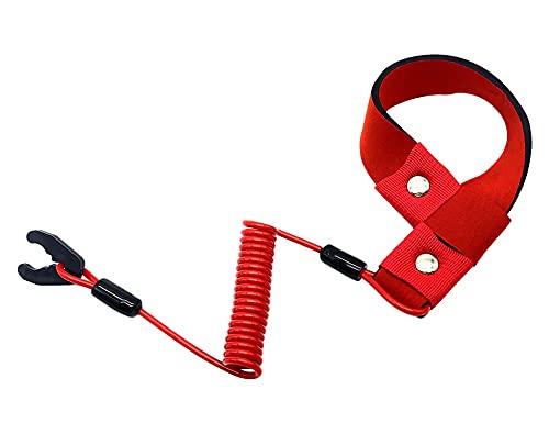 M MATI Stop Kill Switch Safety Lanyard Band Tether Cord for Polaris Jet Ski SL/SLH/SLT/SLTH/SLTX/SLX/SLXH Freedom Genesis Hurricane MSX Octane Virage 7080518