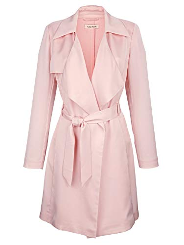 Alba Moda Damen Kurzmantel Rosé 42 Kunstfaser