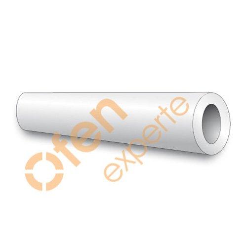 Ofenexperte Kunststoff-Hohlstab aus Hart-PVC 30 x 10 mm, 1m lang