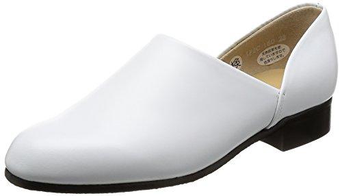 [ハルタ] ドクターシューズ / スポックシューズ 2E 本革 レディース 150 ホワイト 22.5 cm 2E