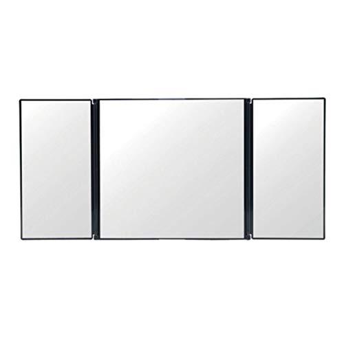 Espejo De Vanidad De Coche Espejo De Visera De Coche Plegable Espejo De Maquillaje Automático Ajustable Negro