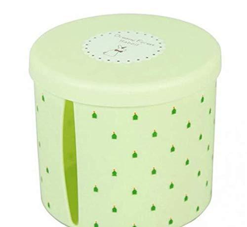 GGPJ Caja de pañuelos Cajas De Pañuelos De Plástico Redondas Impermeables Soporte...