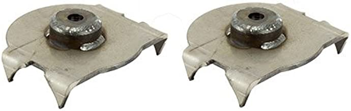 RuffStuff Specialties R1988-1 Jeep TJ Wrangler Rear Lower Axle Coil Spring Mount (Pair)