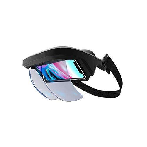 SCKL Intelligent AR Glasses 3D Video Augmented Reality VR Headphones for 3-D Video And Games on The Iphone And Android(4.5-5.5 Inch)