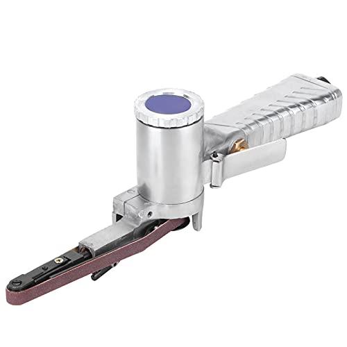Lijadora de banda de aire, lijadora de banda neumática 10 mm Máquina pulidora de carpintería Suministros de carpintero