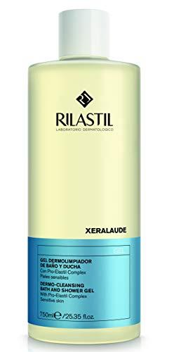 Rilastil Xeralaude - Gel de Ducha Dermolimpiador para Pieles Sensibles - 750 ml
