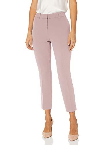 Tahari ASL Women's Petite Ankle Pant, Pale Pink, 8P