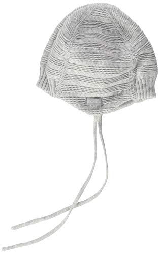 maximo Baby-Jungen Band Beanie-Mütze, silbermeliert, 41