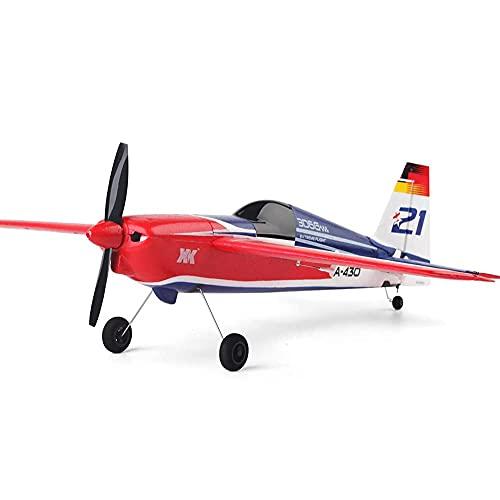 SXLCKJ Avión eléctrico RC de 2,4 GHz EPS, avión sin escobillas de ala Fija, avión no tripulado, Resistente a Las caídas, para Principiantes, Juguete de Regalo (avión Inteligente)