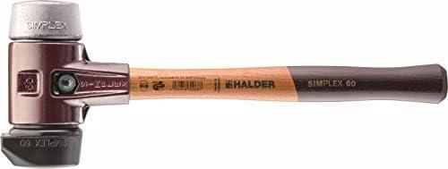 Halder Simplex 4.5 lb Super special price Soft-Face Max 72% OFF Black Rubber