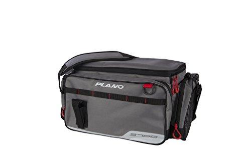 Plano PLAB37110 3700 Size Tackle Case, Grey, Premium Tackle Storage