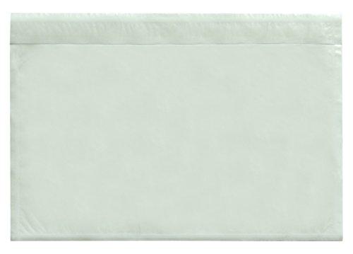 Carte Dozio - Buste trasparenti portadocumenti autoadesive - F.to interno mm 225x160 - 250 pz conf.