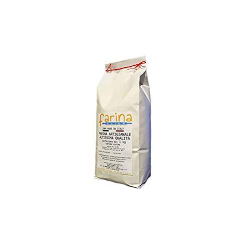 farina manitoba di grano tenero ideale per lunghe lievitazioni, dolci e pizza (confezione da 5 kg)